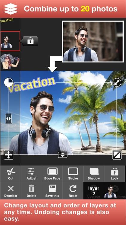 Superimpose Studio-Mix Photos screenshot-4