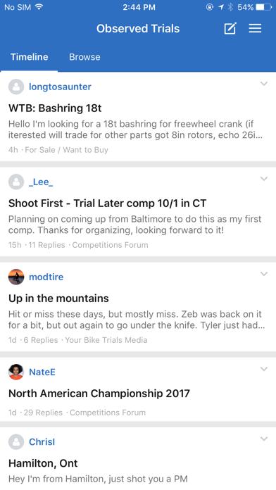 Observed Trials screenshot three