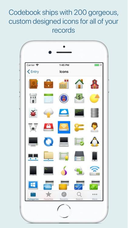 Codebook Password Manager screenshot-7