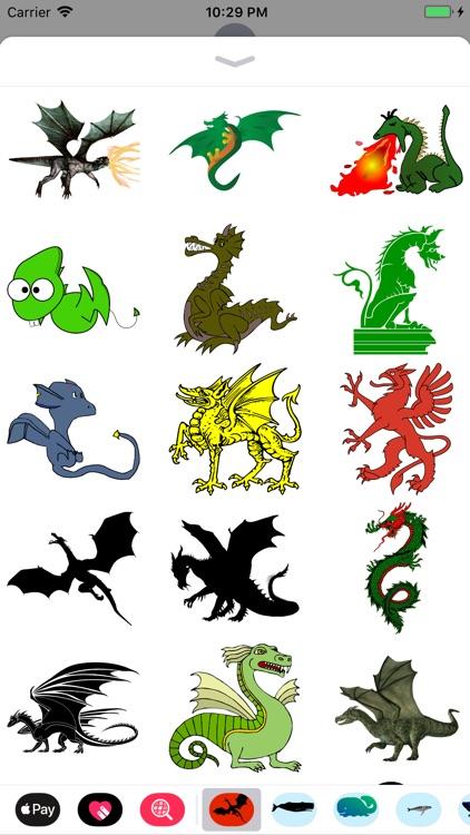 Dozens of Dragon Stickers screenshot-5