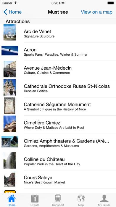 Nice Travel Guide Offline screenshot four