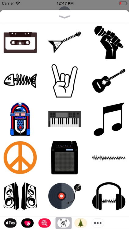 Rock Music Stickers