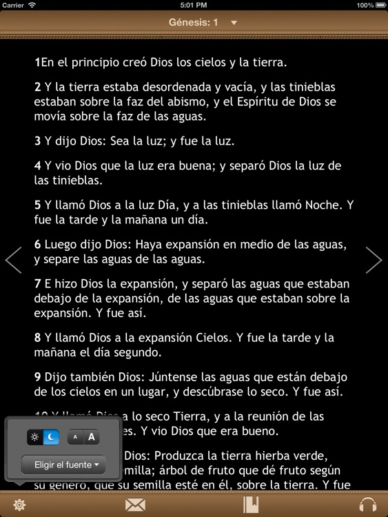 La Biblia Católica con audiobook para iPad screenshot-1