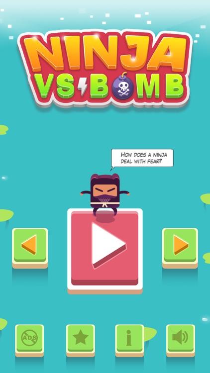Ninja VS Bomb screenshot-0