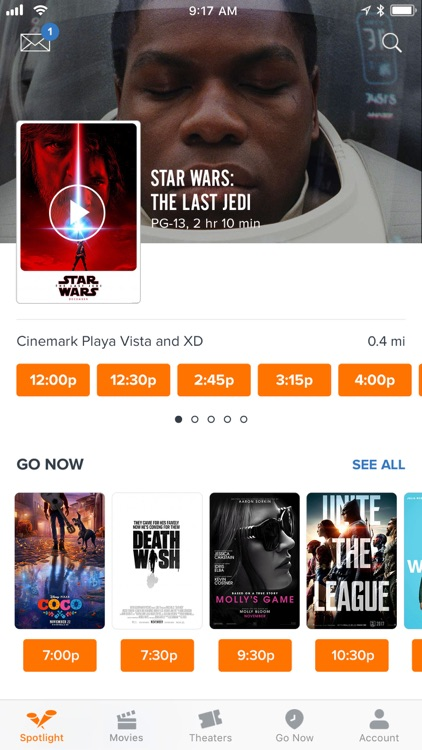 Fandango - Showtimes + Tickets