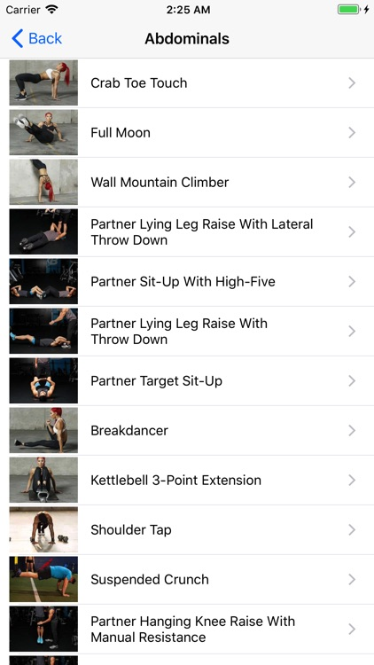 BodyWeight Gym Guide Pro screenshot-2