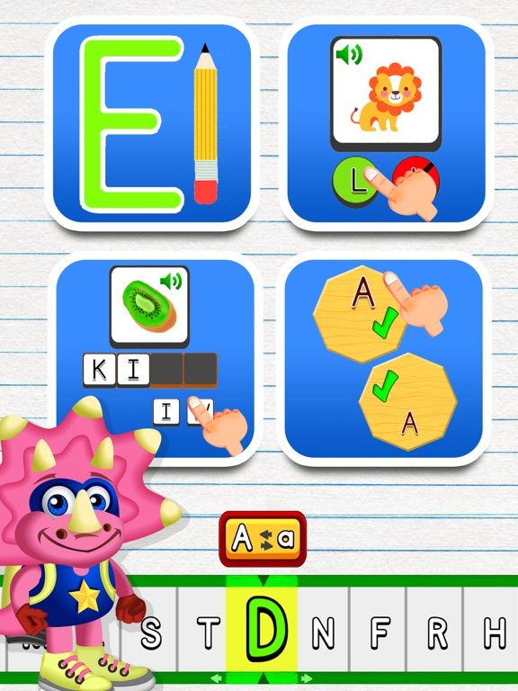 Screenshot #5 for ABC Dinos: Read and write