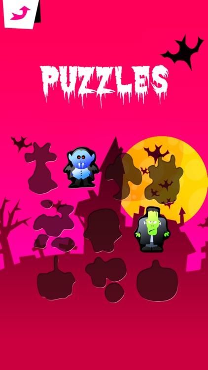 3-in-1 Halloween Games