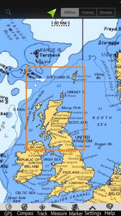 Scotland GPS Nautical Charts screenshot-4