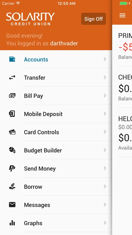 solarity credit union s mobile banking by solarity credit union