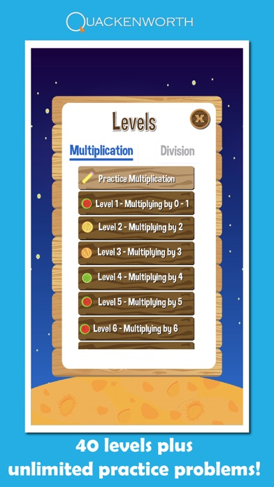 Fruit Rockets Multiplication Screenshot 4