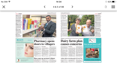 Gazette and Herald screenshot four