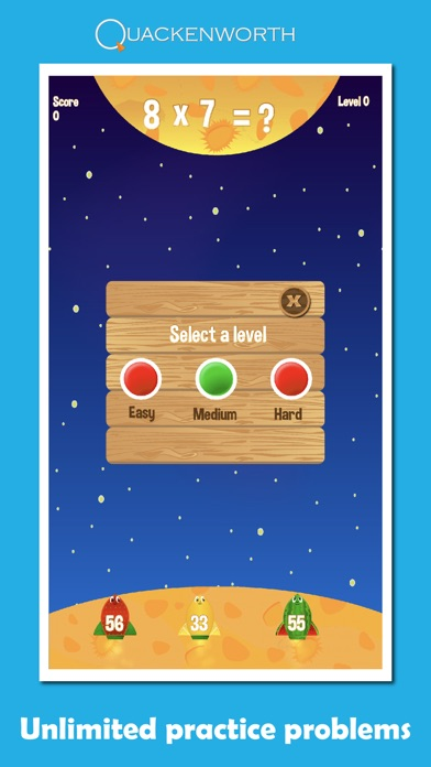 Fruit Rockets Multiplication Screenshot 5