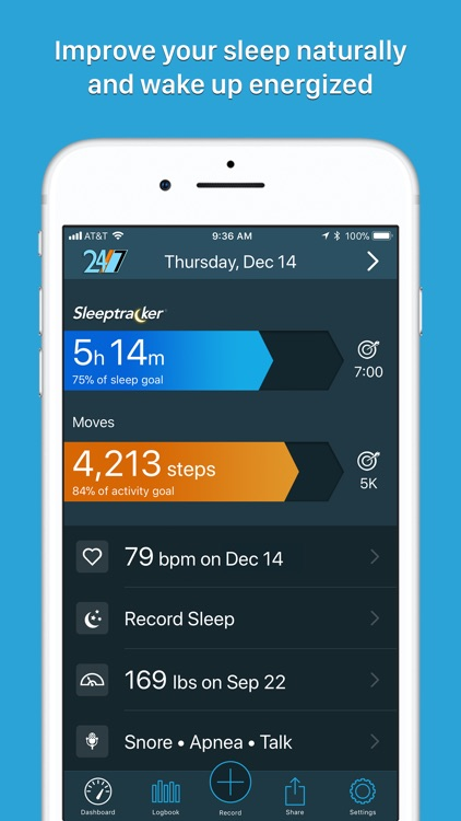 Sleeptracker® 24/7 screenshot-0