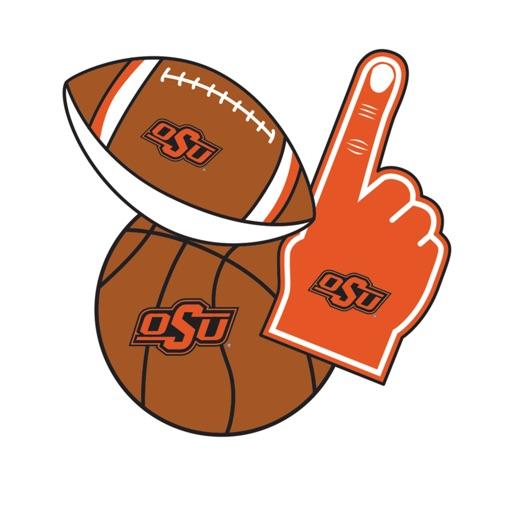 Oklahoma State Cowboys Selfie Stickers