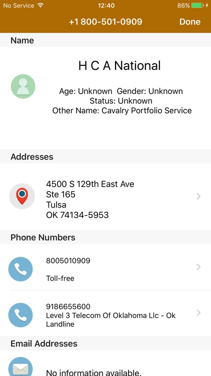 Caller ID-Reverse Phone Lookup screenshot-1