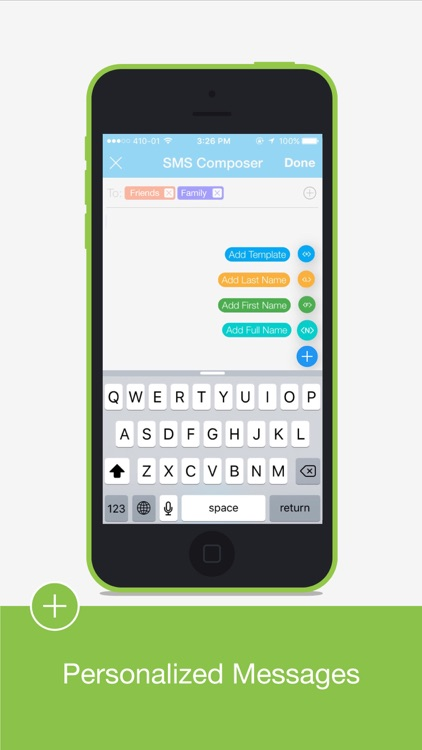 Group SMS Pro Personalized SMS