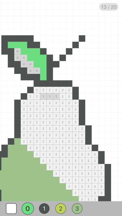 Pixelate! Раскраска по цифрам