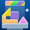 彩色几何塔 - 叠方块游戏