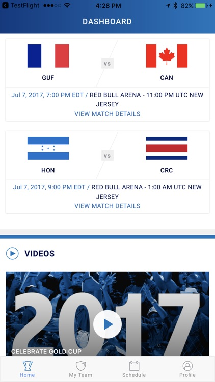 CONCACAF Gold Cup screenshot-2