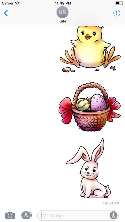 Easter Stickers | Comic Style screenshot-3