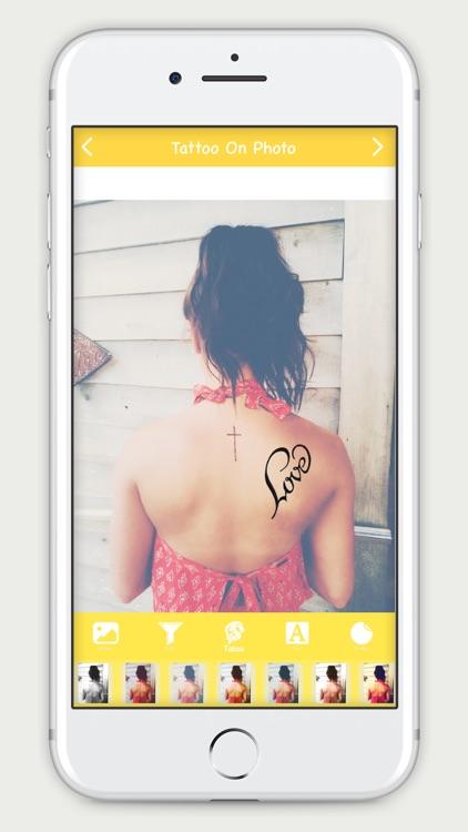 Tattoo On Photo