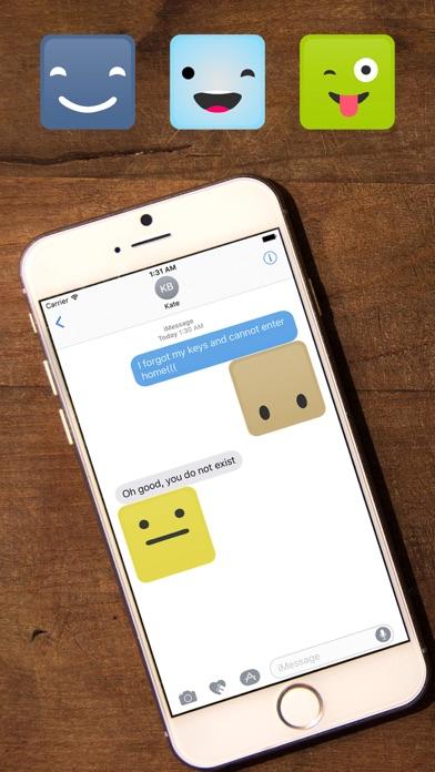 Screenshot of Smile Me Sticker pack App