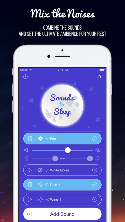 Sounds to Sleep: White Noise & Deep Sleep Sounds