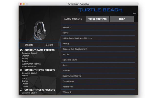 Turtle Beach Audio Hub on the Mac App Store