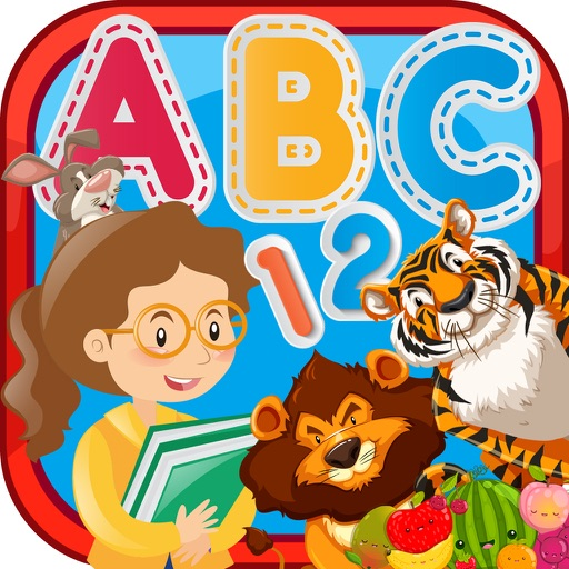 Toddler Games and ABC For 3 Year Educational application logo