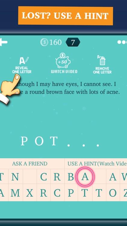 Riddles & Brain Teasers Quiz screenshot-3