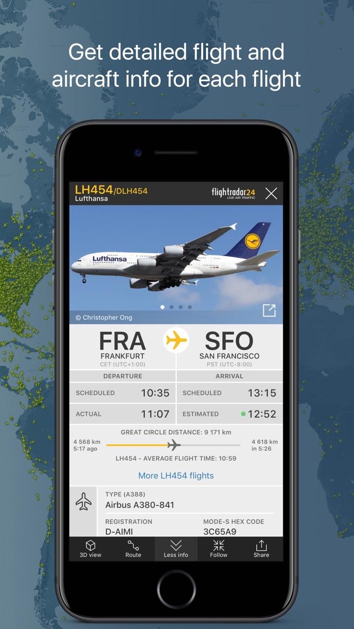 Flightradar24   Flight Tracker Screenshot