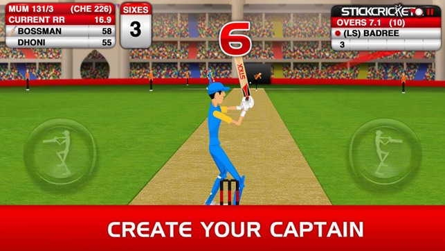 Stick Cricket Premier League sport game for android phone