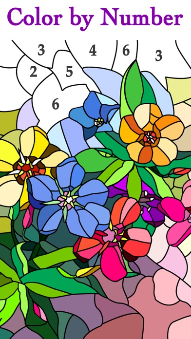 Happy Color™ – Color by Number screenshot 1
