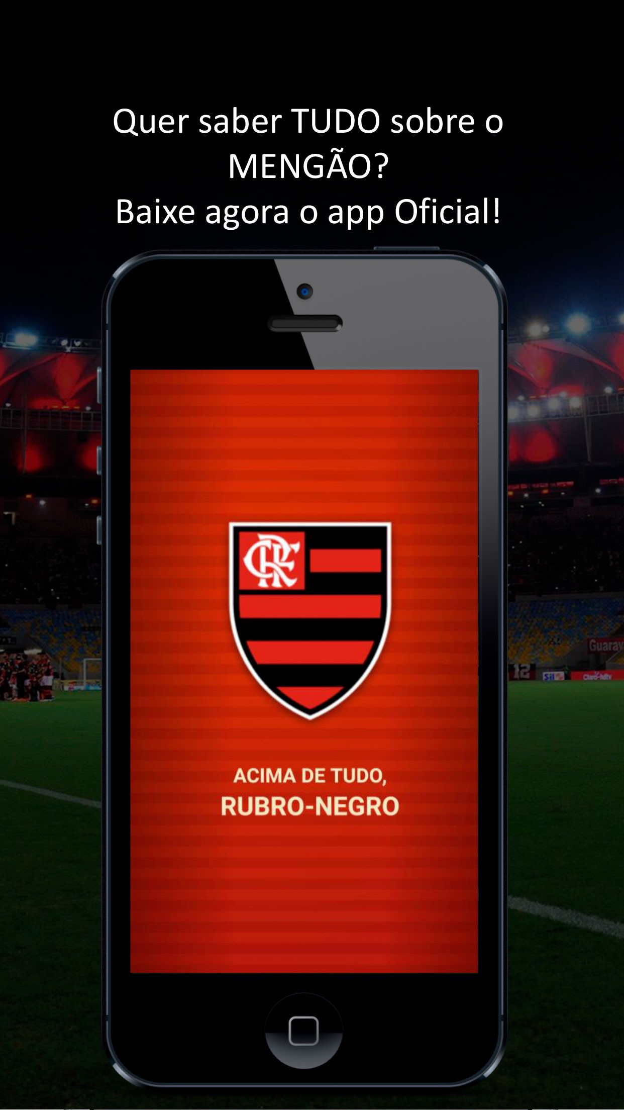 Screenshot do app Flamengo