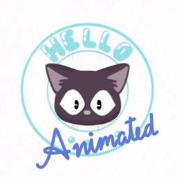 Jet the Cat Animated Stickers