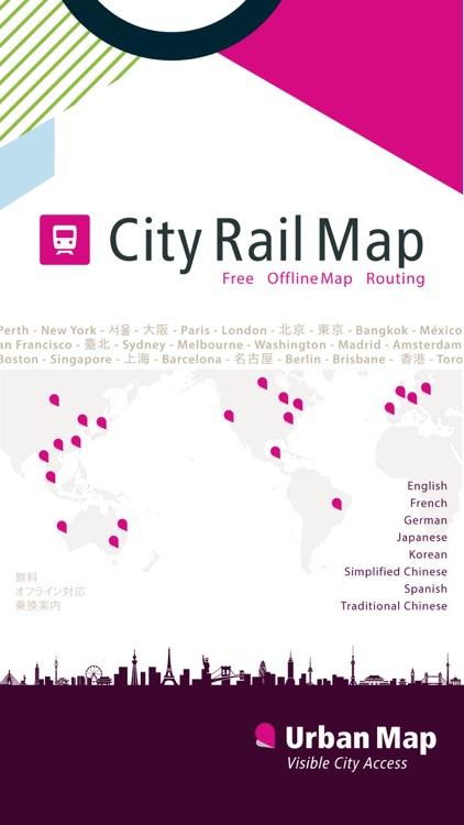 Barcelona Rail Map screenshot-4