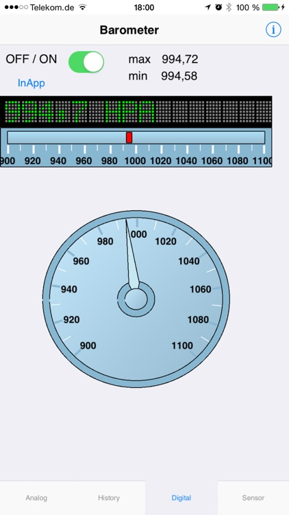 Barometer plus Altimeter screenshot-3