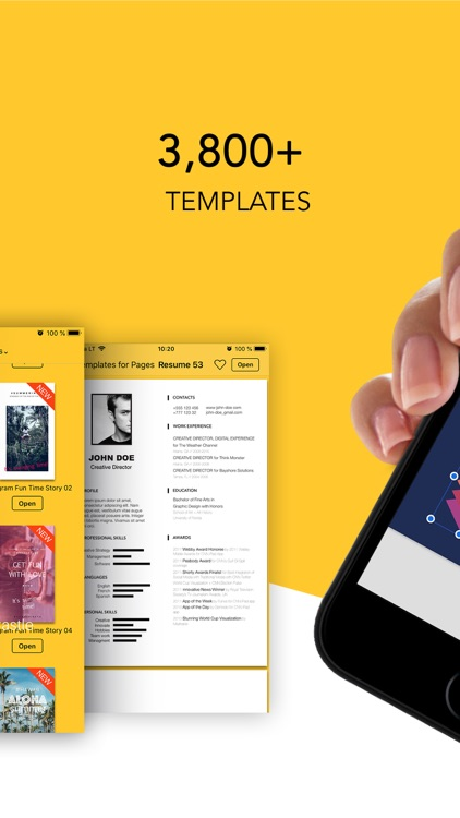 Templates for Pages - GN