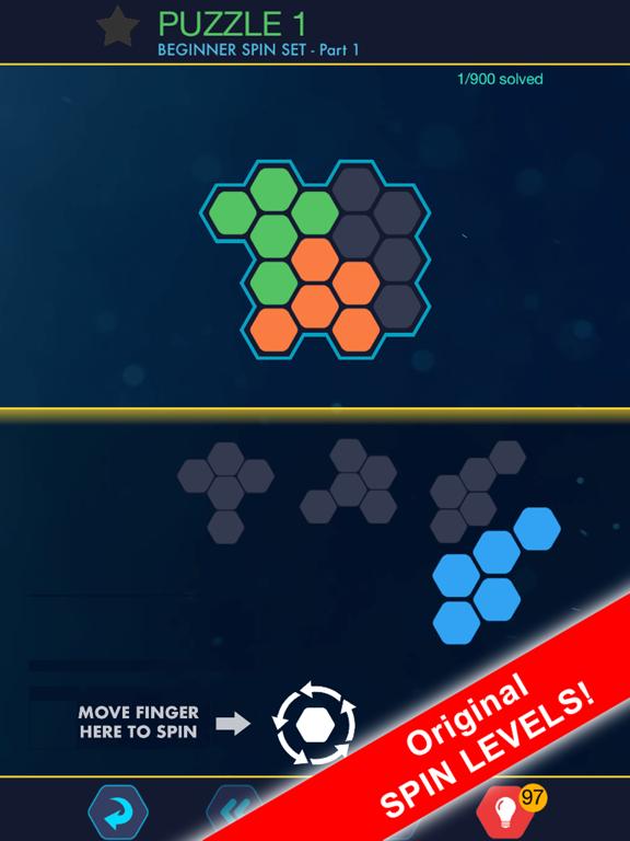 Hexa Block Ultimate! with Spin screenshot 7