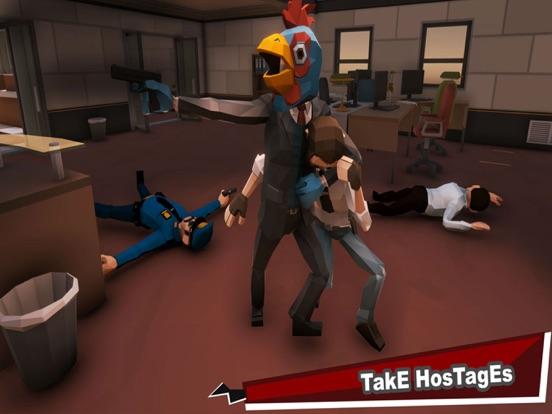 Bank Robbers Vs Police Battle-ipad-4