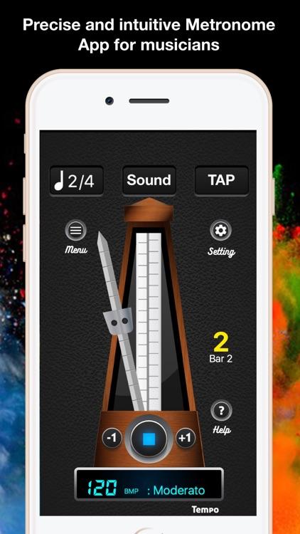 Metronome - Beats Tempo Tap screenshot-4