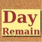 DayRemain - 日付をカウントダウン icon