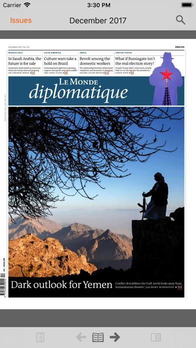 Le Monde Diplomatique English review screenshots