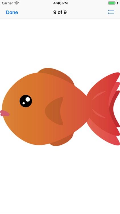Glorious Goldfish Stickers screenshot-8