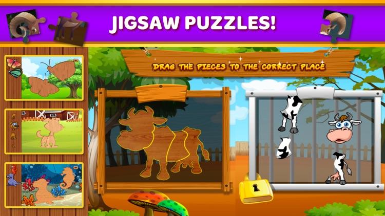 Preschool Games Kids Learning screenshot-3