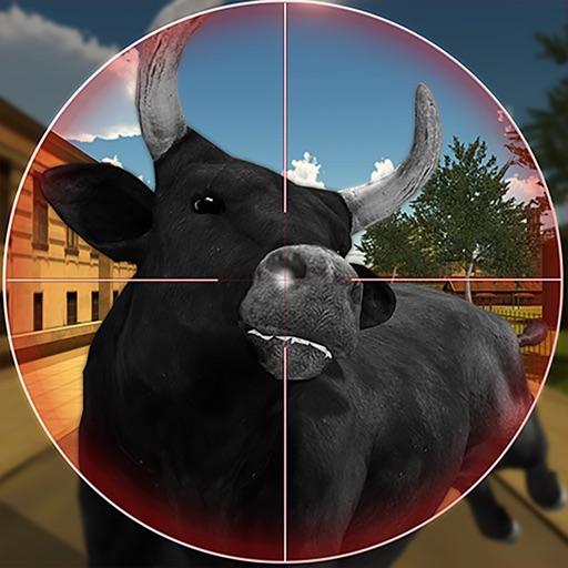 Angry Bull Hunting