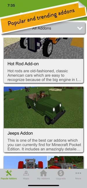 MCPE Addons - Addon Creator on the App Store