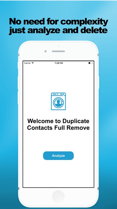 Screenshot #3 for Duplicate Contacts Full Remove
