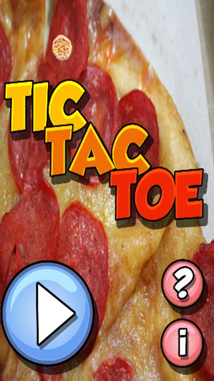 Pizza Tic-Tac-Toe (2-Player)